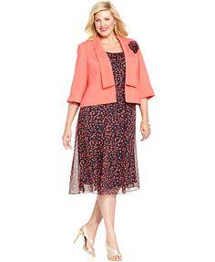 Le Bos Plus Dress and Jacket Sleeveless Lace | Clothing | Le Bos ...
