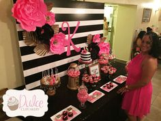 Ideas kate spade bridal shower ideas photo booths for 2019 Kate Spade Party, Kate Spade Bridal, Valentinstag Party, 40 Y Fabuloso, Ideas Decoracion Cumpleaños, Party Fiesta, Bridal Shower Favors, Bridal Showers, 30th Birthday Parties