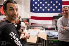 Sully Erna and his dog along with Tony Rombola Sully Erna, Hottest Guy Ever, Great Bands, Love Him, David Duchovny, Fan, People, Rockers, Music