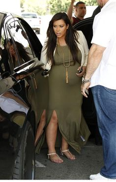 Week in Photos for June 15, 2013 - Kim K- The day before she had her baby...she still looks cute