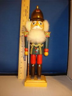 Nutcrackers 177743: Nutcracker Wooden White Hair And Beard 15 Inches 6109 240 -> BUY IT NOW ONLY: $45.25 on eBay!