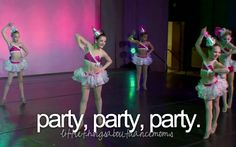 """Nia Frazier, Brooke Hyland, Paige Hyland, Chloe Lukasiak, and Maddie Ziegler in """"Party, Party, Party"""""""