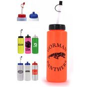 Sports Bottle with Flexible Straw (32 Oz.) | Personalized Water Bottles