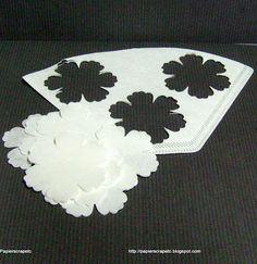 tutoriel de la fleur pivoine avec des filtres à café.