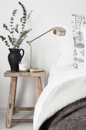 My budget bedroom refresh / Photo and production Niki Brantmark - My Scandinavian Home. In collaboration with Benson for Beds. Bedroom Vintage, Modern Bedroom, Budget Bedroom, Bedroom Decor, Bedroom Ideas, Bedroom Wall, Style Kinfolk, Side Tables Bedroom, Vintage Bedrooms
