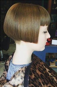 - All For Bob Hair Trending Cute Bob Haircuts, Stacked Bob Hairstyles, Bob Haircut With Bangs, Elegant Hairstyles, Chic Short Hair, Short Hair Cuts, Short Bangs, Short Bob Styles, Long Hair Styles