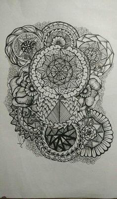 Zantangle doodle