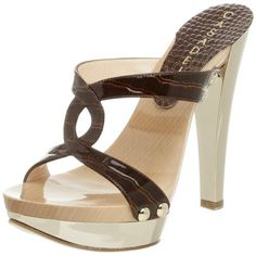Casadei Women's High Heel Mule Sandal  I couldn't wear them anymore, but I love 'em!!