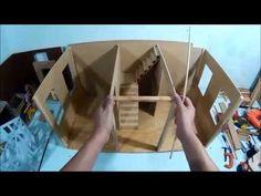 Como hacer nuestra casa de muñecas, parte 1 (a) - YouTube