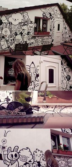 bobsmade    I would like to paint my house like that, if i own a house