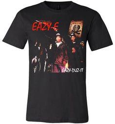 Eazy Duz It 1st album CD Shirt Eazy E