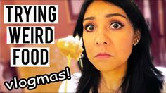 TRYING WEIRD FOOD IN SINGAPORE!  |  Vlogmas Day 1