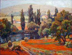 "Saatchi Art Artist Andrew Shershnev; Painting, ""Poppy field"" #art"