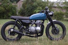 ϟ Hell Kustom ϟ: Honda CB500 Four By French Monkeys