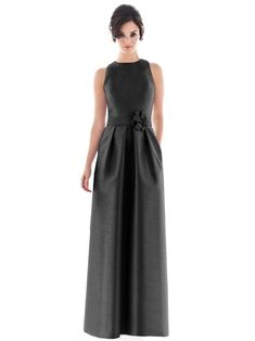 Perfect Little (and Long) Black Bridesmaids Dresses for Lindsey
