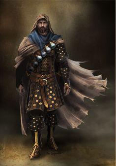 Character concept commission: techno-fantasy hero by bobgreyvenstein on deviantART