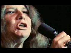 """""""Ball and Chain"""" sung by Janis Joplin - sensational live performance at the Monterey Jazz Festival. She brought the house down with this performance."""