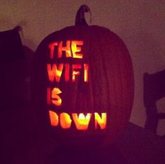 that's one scary pumpkin!