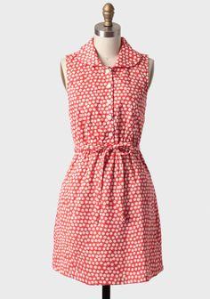 Picnic Day Polka Dot Dress By Tulle at #Ruche @Mimi B. B. ヾ(^∇^)