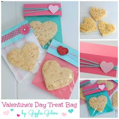 A Blissful Nest Valentines Day Treat Bag 001 {DIY Tutorial} Valentines Day Treat Bags