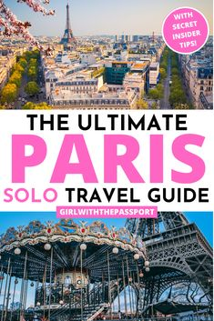 Planning to solo travel Paris? Then check this expert guide filled with solo Paris travel tips and a list of 12 secret Paris attractions you MUST visit. Paris France Travel, Paris Travel Guide, Solo Travel Tips, Paris Tips, Europe Travel Tips, European Travel, Travel Guides, Travelling Tips, Travel Pics