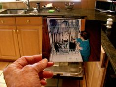 Dear Photograph,    At age one and a half, I thought Grandma's dishwasher was the best toy ever. Seventeen years later, I'm not so sure.    -Chirpie