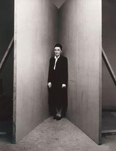 workman:  cavetocanvas: Irving Penn, Georgia O'Keeffe (B), New York, January 31, 1948, printed September 1991