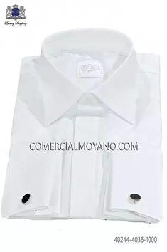 Camisa de algodón blanca 40244-4036-1000 Ottavio Nuccio Gala.