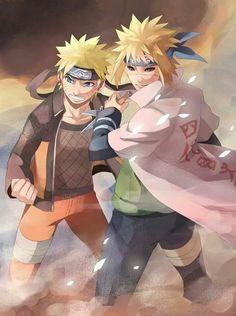 Minato and Naruto || Naruto Shippuden