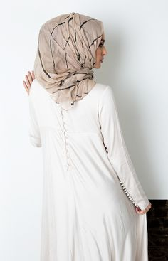 Crochet Couture Abaya
