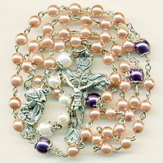 Pink Pearl Advent Rosary
