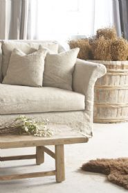 17 Best Linen sofa slipcover ideas images in 2015 | Linen couch ...