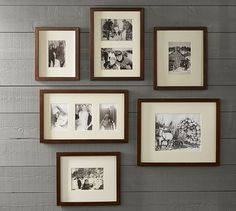 Gallery in a Box - Wood Gallery Frames | Pottery Barn