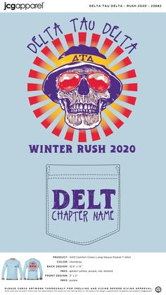 Delta Tau Delta Recruitment Shirt | Fraternity Recruitment Shirt | Greek Recruitment Shirt #deltataudelta #dtd #recruitment #shirt #retro #funky #design #winter