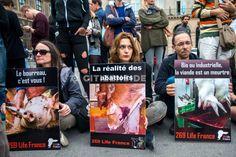 Paris : Manifestation contre la souffrance animale - Planète - Citizenside France