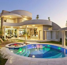 """Luxury Homes Interior Dream Houses Exterior Most Expensive Mansions Plans Modern 👉 Get Your FREE Guide """"The Best Ways To Make Money Online"""" Dream House Exterior, Dream House Plans, Dream Home Design, Modern House Design, Modern Mansion, Modern Homes, Luxury Homes Dream Houses, Villa Design, Home Fashion"""