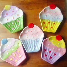 Cupcakes dish