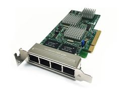 Supermicro AOC-SG-I4 4-Port Low-Profile Gigabit Ethernet PCI-E Adapter