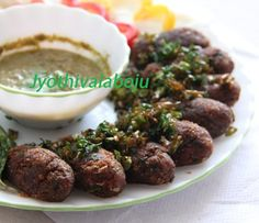 Andhra style Plantain Kababs