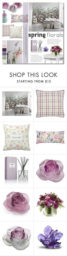 """""""Enter contest Draft Saved Open New        WomenMenHomeMy ItemsCollectionsContestspring× ×Colors×Colors in set×Text× Make Your Home Bloom"""" by valentina1 ❤ liked on Polyvore featuring interior, interiors, interior design, home, home decor, interior decorating, Mio, M&Co, Nest Fragrances and Daum"""