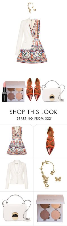 """""""Take a Crazy Chance."""" by vii-xxiv ❤ liked on Polyvore featuring Alice + Olivia, Malone Souliers, Hobbs, Bernard Delettrez, Marni and Smashbox"""