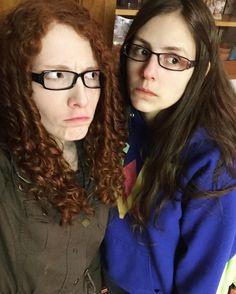 Bethany and Cierra
