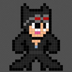 8-bit Catwoman