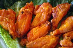 "Baked Buffalo Wings I'll try them; it's not the tried and true, conventional way of making them ( I'm from Buffalo) but it sounds good, and, maybe, just a little bit, ""not-so-bad-for-you."""