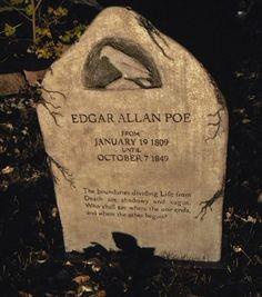 Grave Edgar Allan Poe