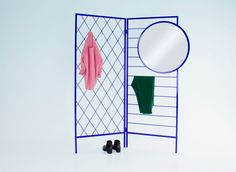 Vera  Kyte 'Apparel' room divider