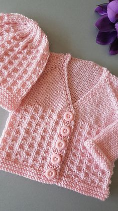 Ravelry nevis top down v neck baby cardigan jacket pattern by marianna mel free knitting pattern