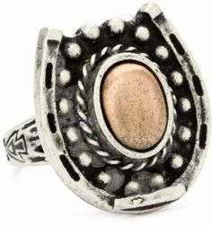 Vanessa Mooney Copper Horseshoe Ring Size 7 Vanessa Mooney. $24.70
