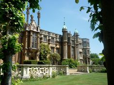 Knebworth  House- Were going to have to visit, they have all of Ryans family records inside