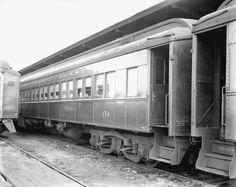 Florida Memory - Train passenger car